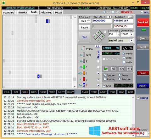 Capture d'écran Victoria pour Windows 8.1