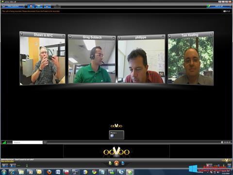 Capture d'écran ooVoo pour Windows 8.1