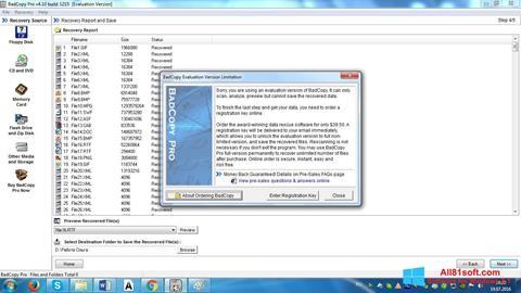 Capture d'écran BadCopy Pro pour Windows 8.1