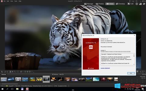 Capture d'écran ACDSee Pro pour Windows 8.1