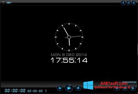 Capture d'écran Daum PotPlayer pour Windows 8.1