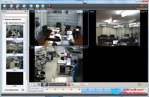 Capture d'écran Ivideon Server pour Windows 8.1