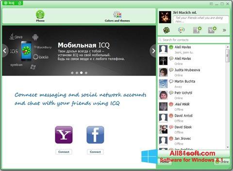 Capture d'écran ICQ pour Windows 8.1