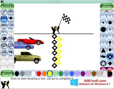 Capture d'écran Tux Paint pour Windows 8.1