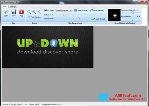 Capture d'écran SmartDeblur pour Windows 8.1