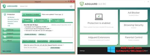 Capture d'écran Adguard pour Windows 8.1