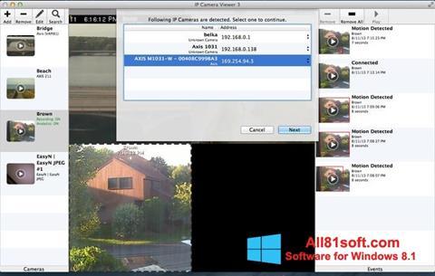Capture d'écran IP Camera Viewer pour Windows 8.1