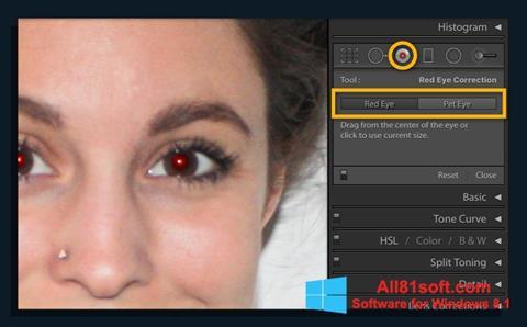 Capture d'écran Red Eye Remover pour Windows 8.1