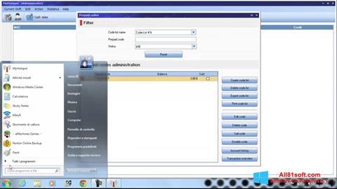 Capture d'écran MyHotspot pour Windows 8.1